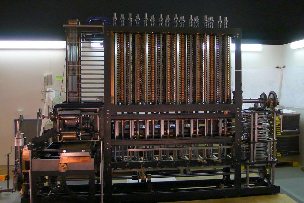 История развития вычислительной техники механический этап  машина Бэббиджа